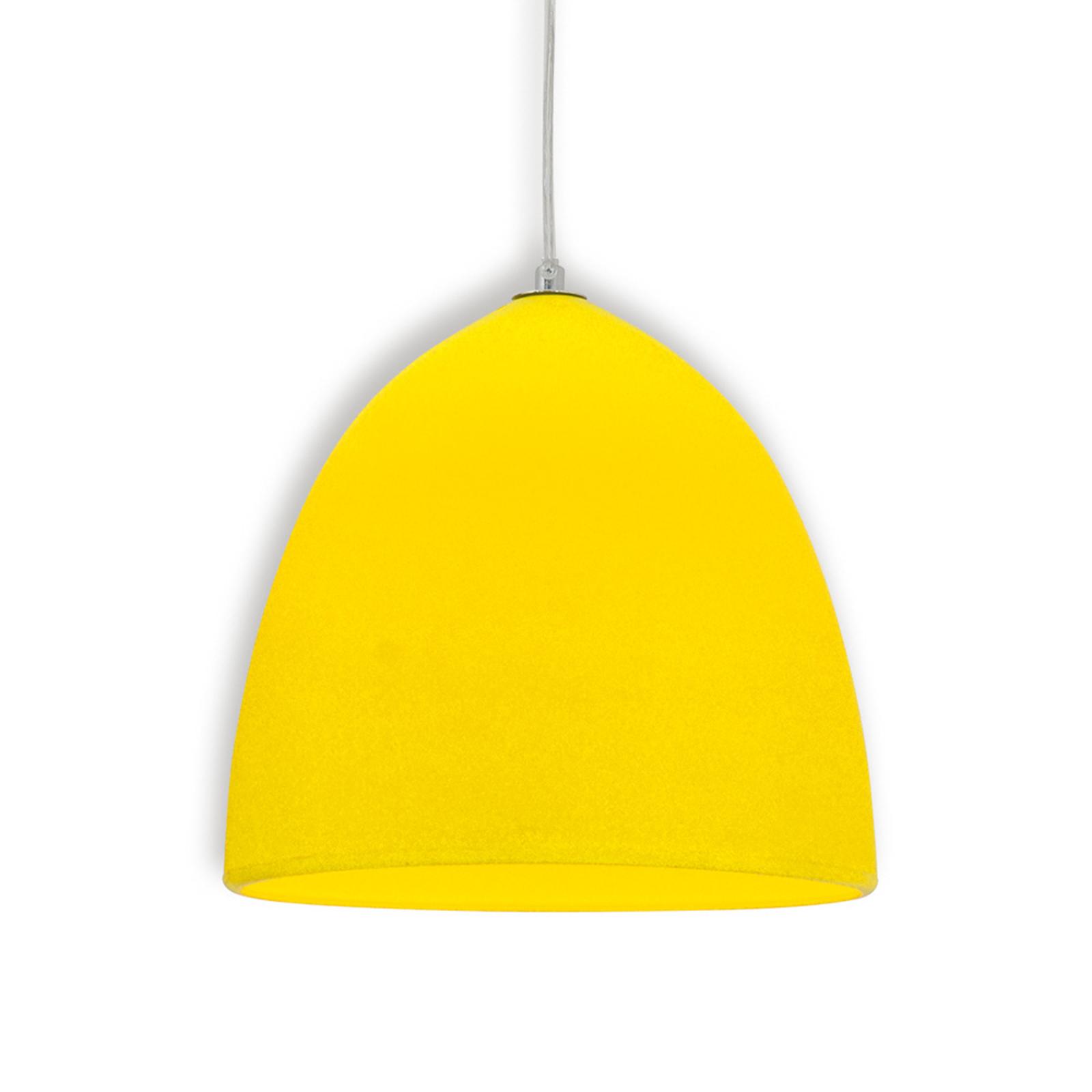 Keltainen silikoni riippuvalaisin Fancy