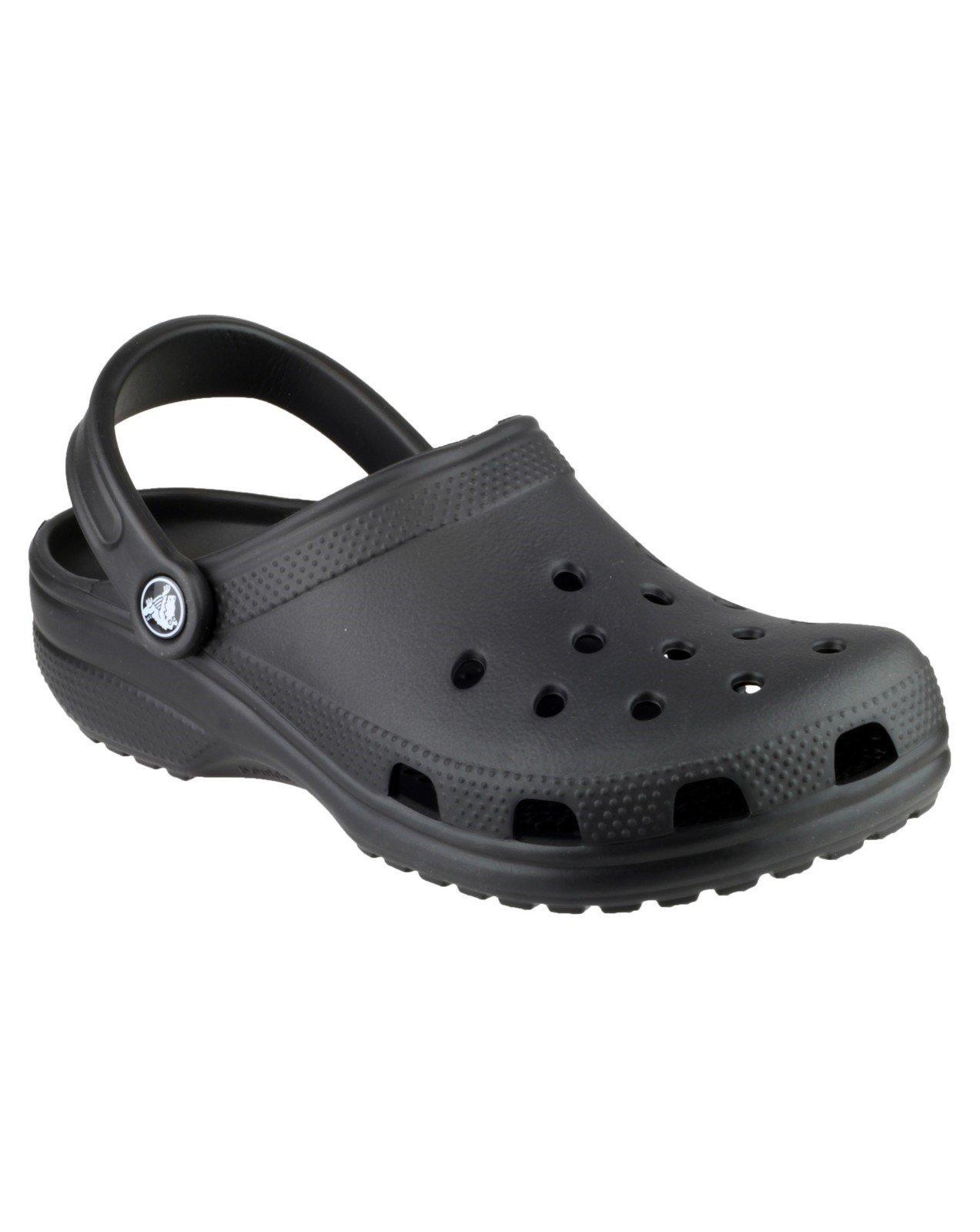 Crocs Unisex Classic Clog Sandal Various Colours 21060 - Black 10