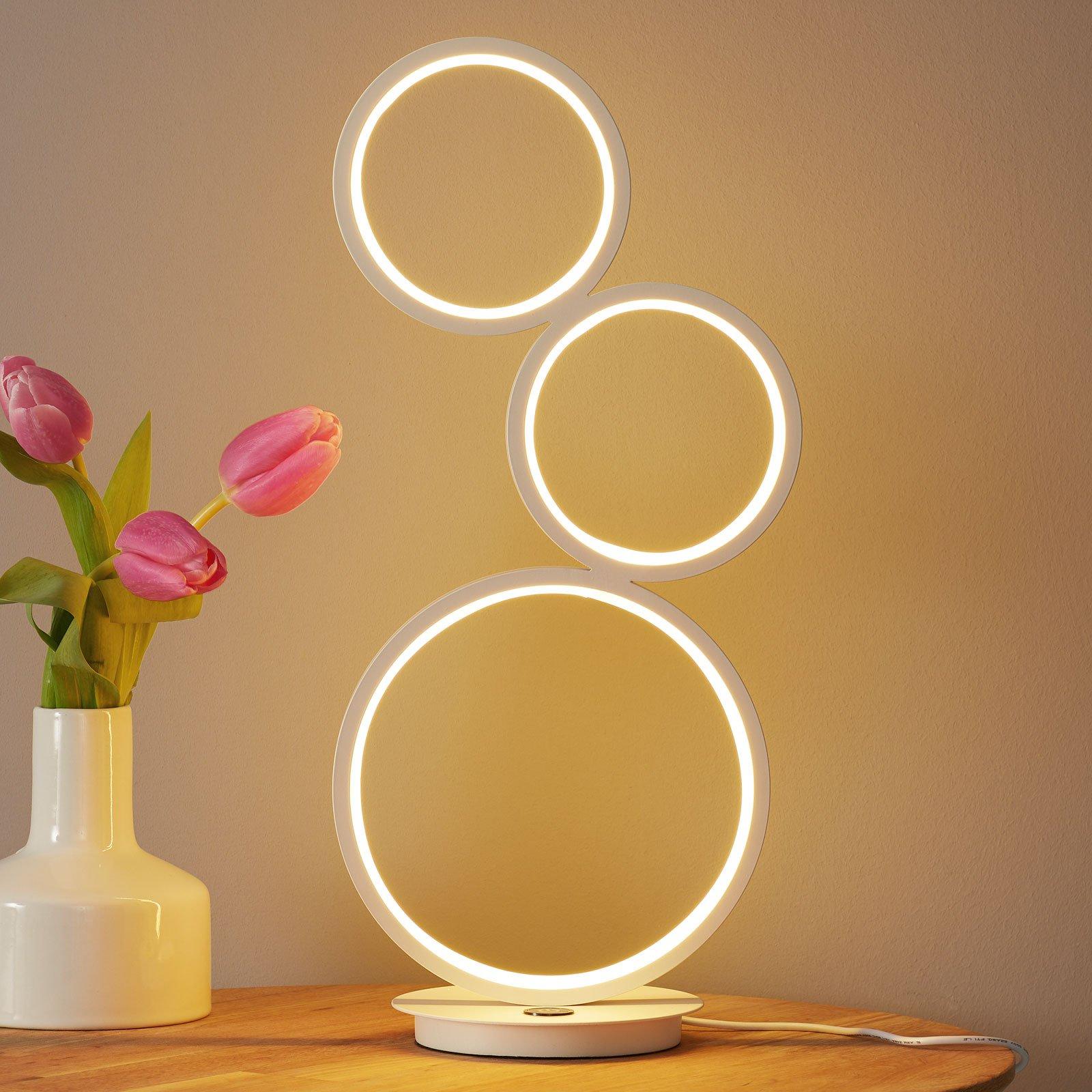 LED-bordlampe Vika med 3-trinns berøringsdimmer