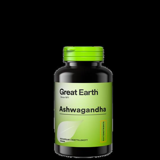 Ashwagandha, 120 kapslar