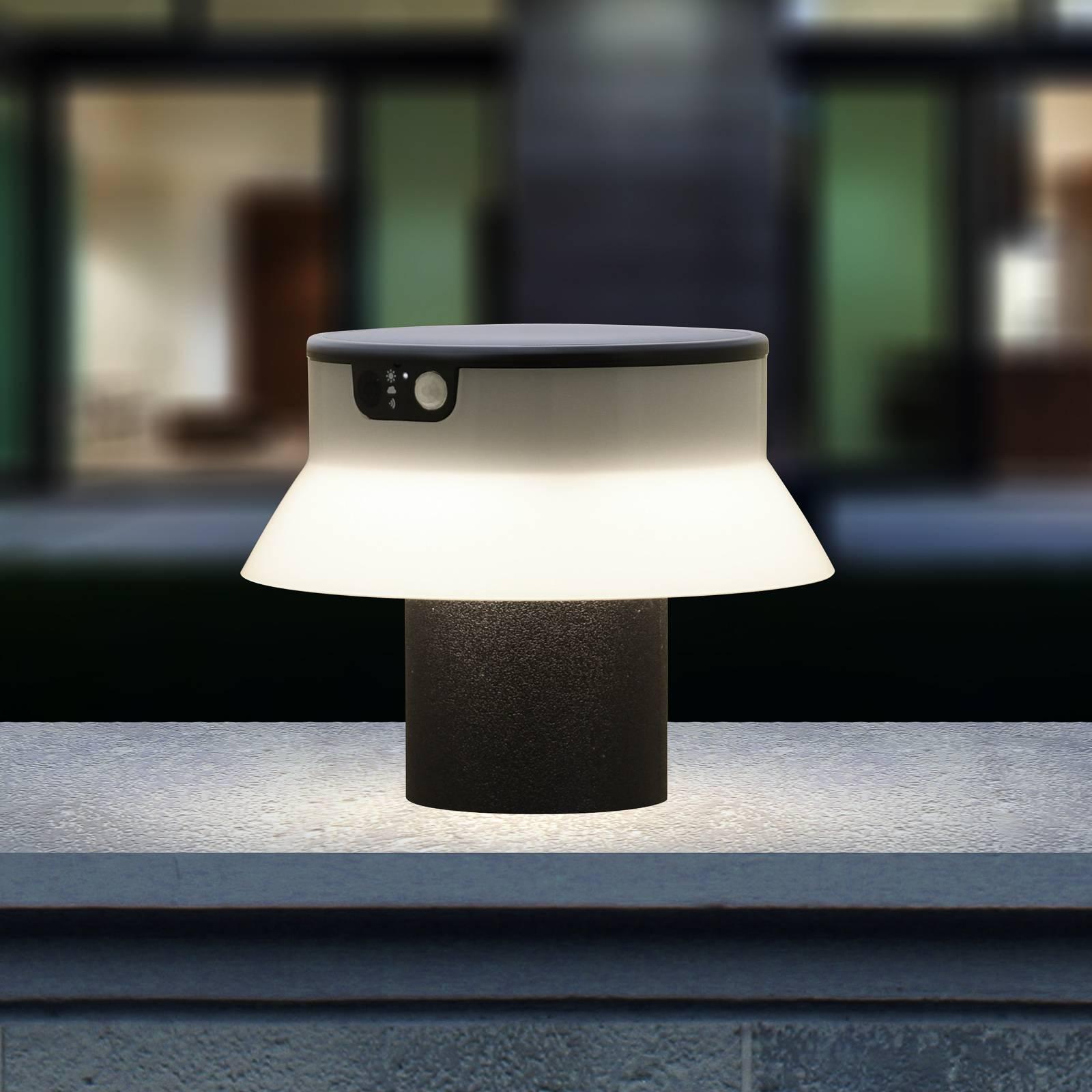 Aurinkokäyttöinen LED-valaisin Felice, CCT 18 cm