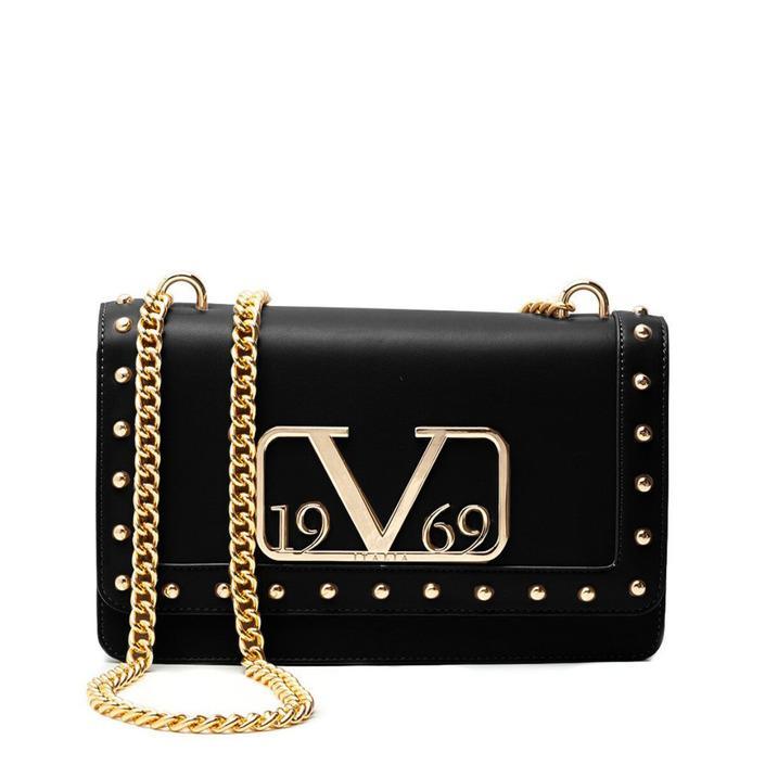 19v69 Italia Women's Shoulder Bag Various Colours 318683 - black UNICA
