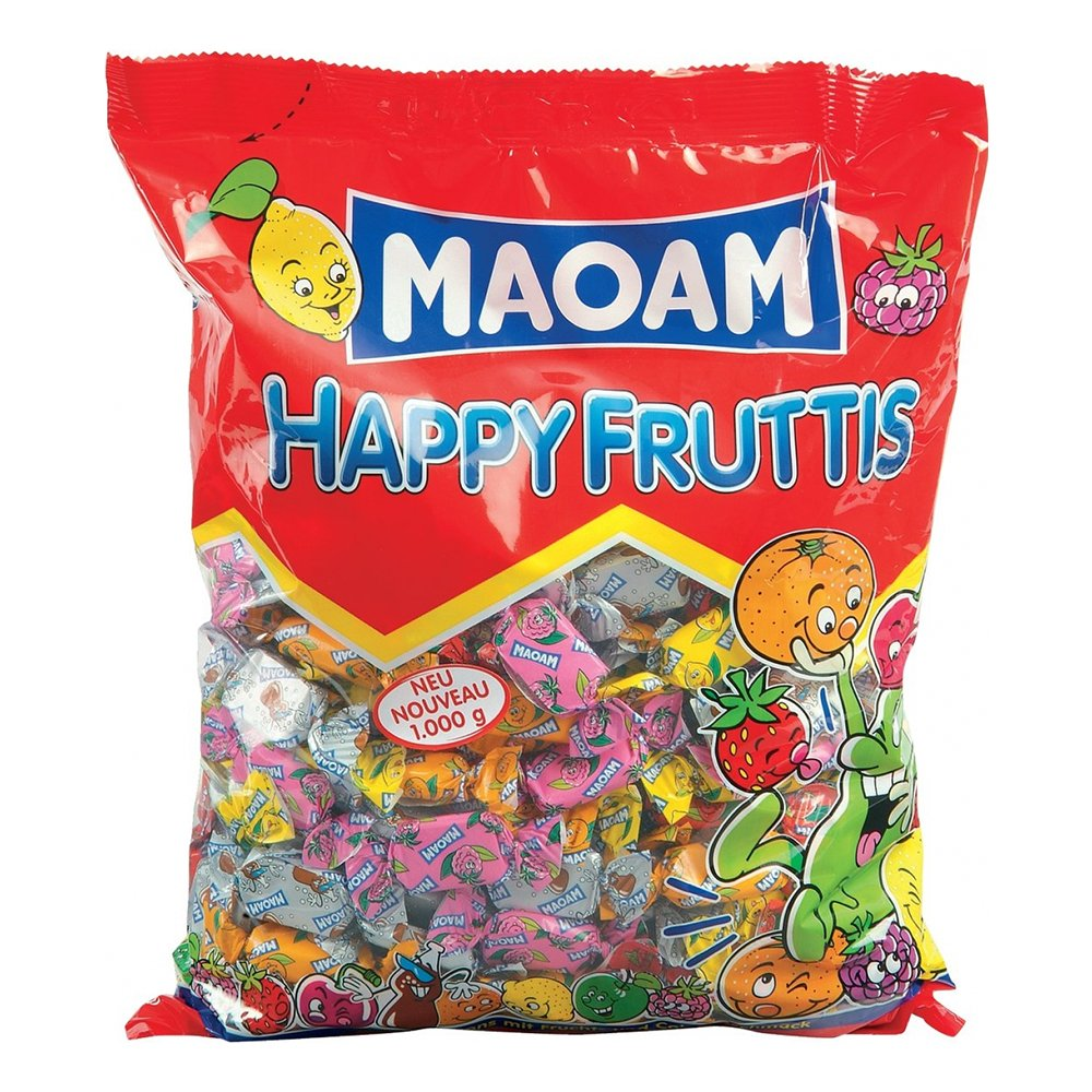 Maoam Happy Fruttis Storpack - 1 kg