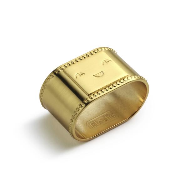 Elodie Details - Napkin Ring - Matt gold/Brass
