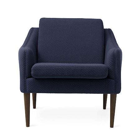 Mr. Olsen Lounge Chair Royal Blue Smoked Ek