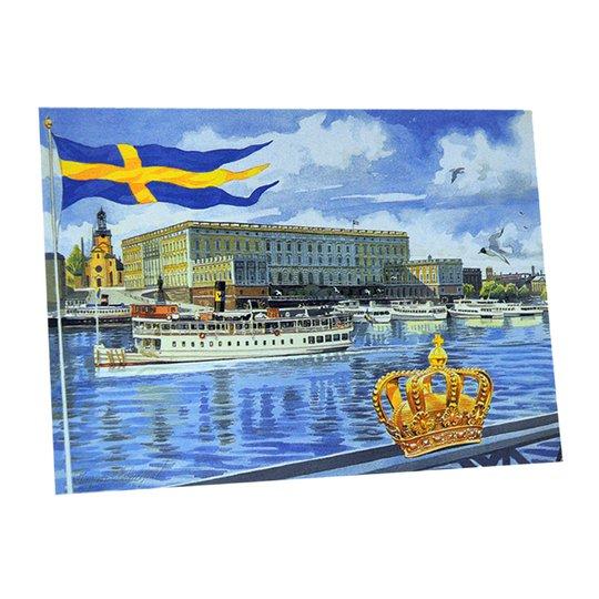 """Kort Dubbelt """"Stockholm Kungliga slottet"""" - 97% rabatt"""