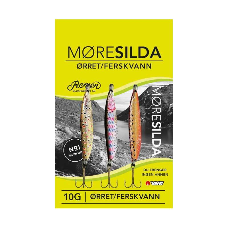 Remen Møresilda Ørret 10g 3-Pak Ferskvann - Ørret