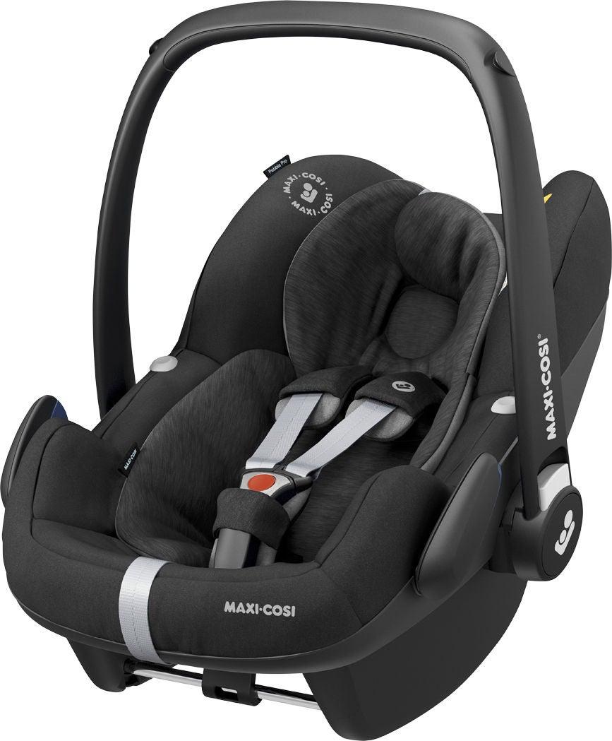Maxi-Cosi Pebble Pro i-Size Babyskydd, Essential Black