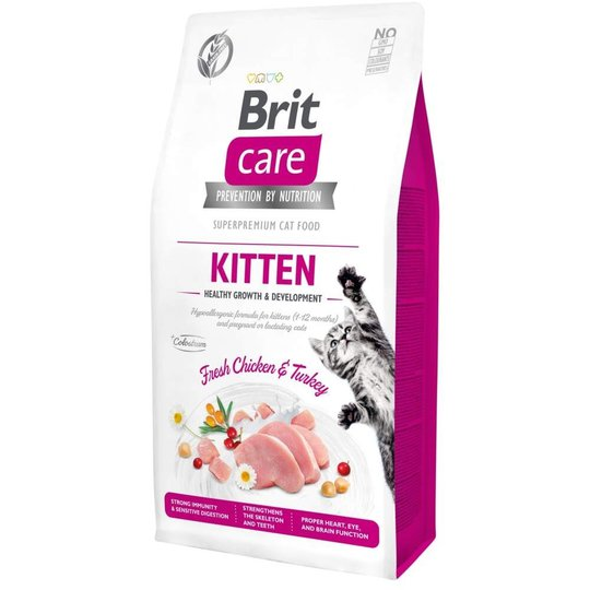 Brit Care Cat Grain Free Kitten Healthy Growth & Development (7 kg)