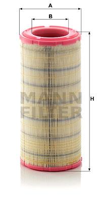 Ilmansuodatin MANN-FILTER C 19 460/2