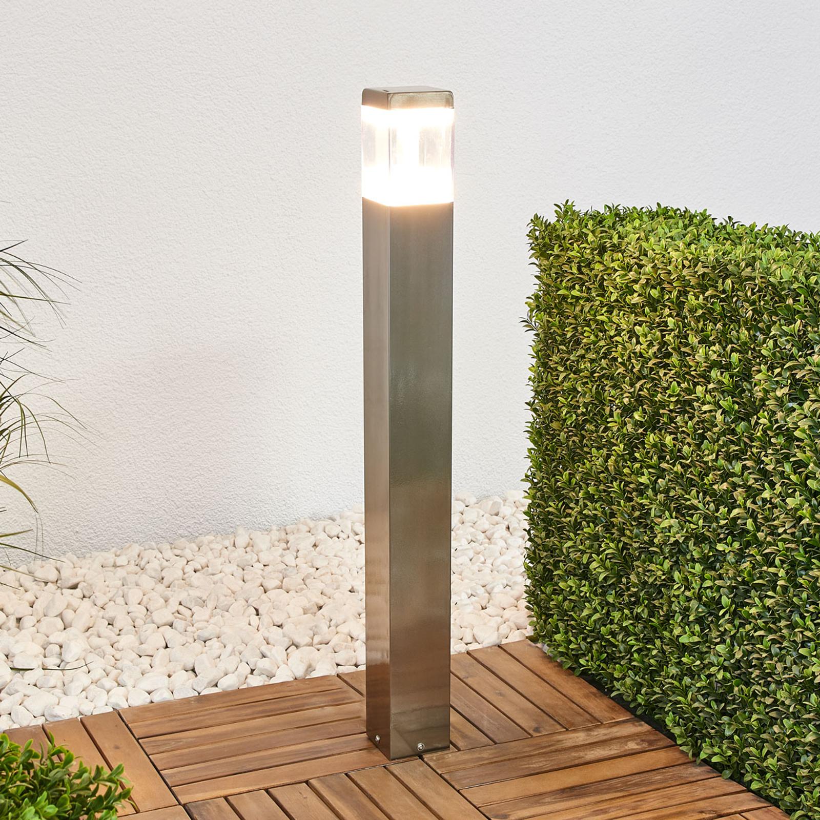 Baily - pylväsvalaisin LEDeillä, ruostumaton teräs