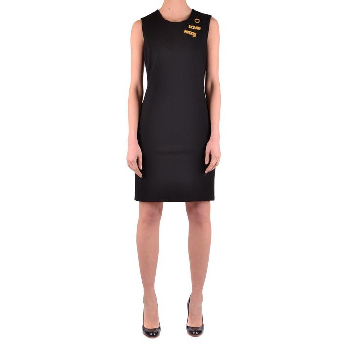 Love Moschino Women's Dress Black 186768 - black 44