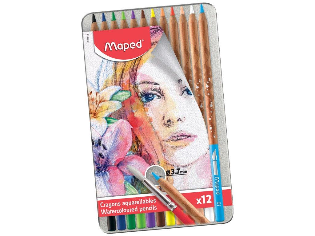 Maped - Artists - Watercolor Pencils (12 pcs) (832412)