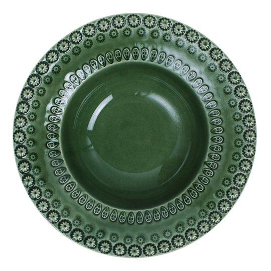 PotteryJo - Daisy Sopptallrik 21 cm Forest