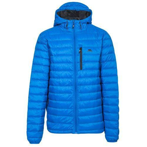 Trespass Unisex Packaway Down Jacket Various Colours Digby - Blue M
