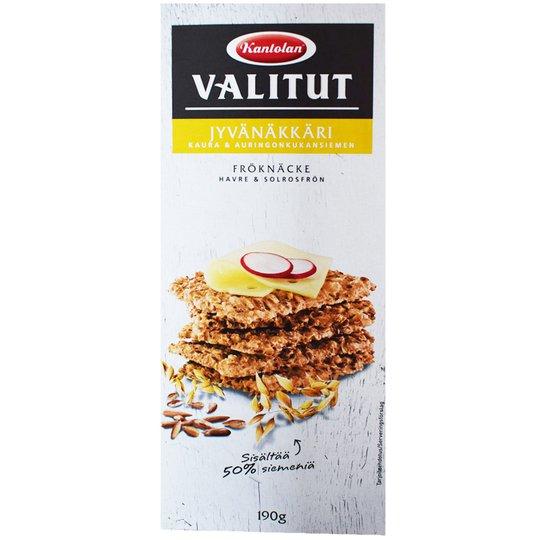Jyvänäkkäri Kaura & Auringonkukansiemen - 32% alennus