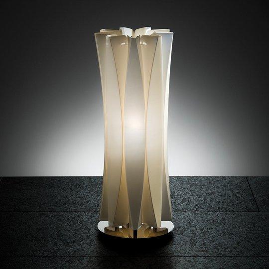 Aistikas pöytävalaisin BACH, korkeus 42 cm, kulta