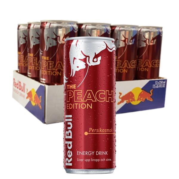 Red Bull Peach Edition 25 cl x 12 st