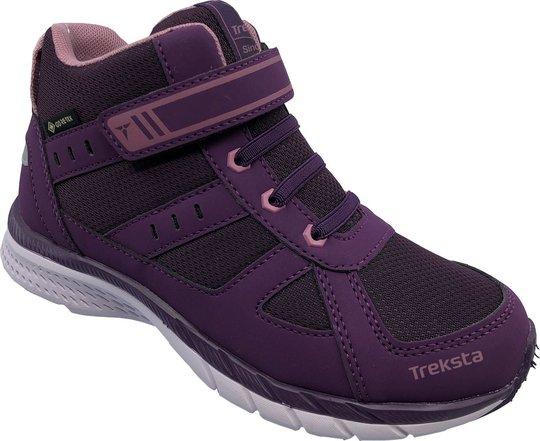 Treksta Trail Mid Jr GTX Sneaker, Purple, 24