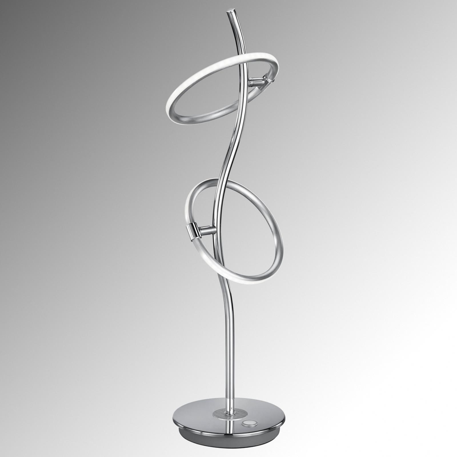 LED-pöytälamppu Olympus kosketushimmentimellä