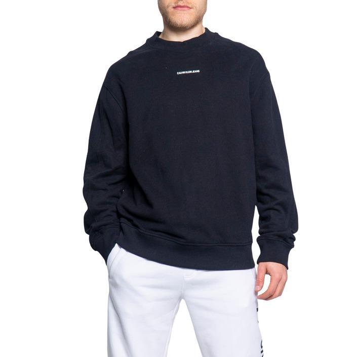 Calvin Klein Jeans Men's Sweatshirt Black 189185 - black XS