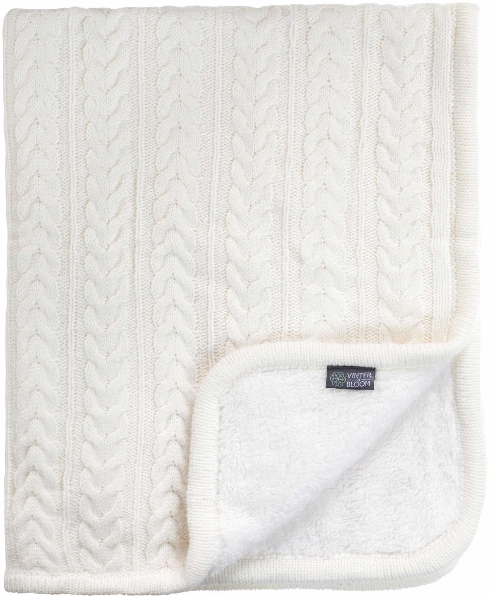 Vinter & Bloom Filt Cuddly, Ivory