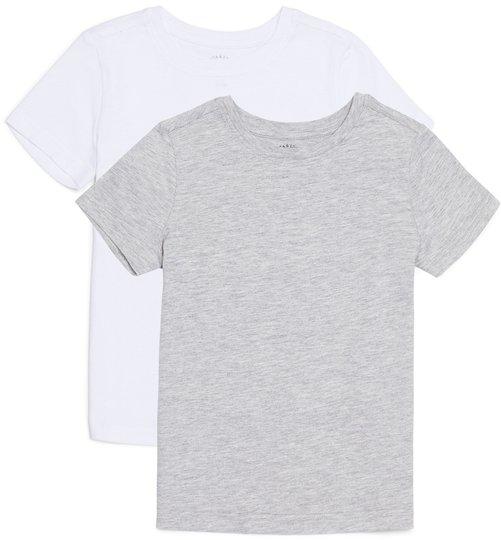 Luca & Lola Adolfo T-Shirt 2-pack, Grey/White 98-104