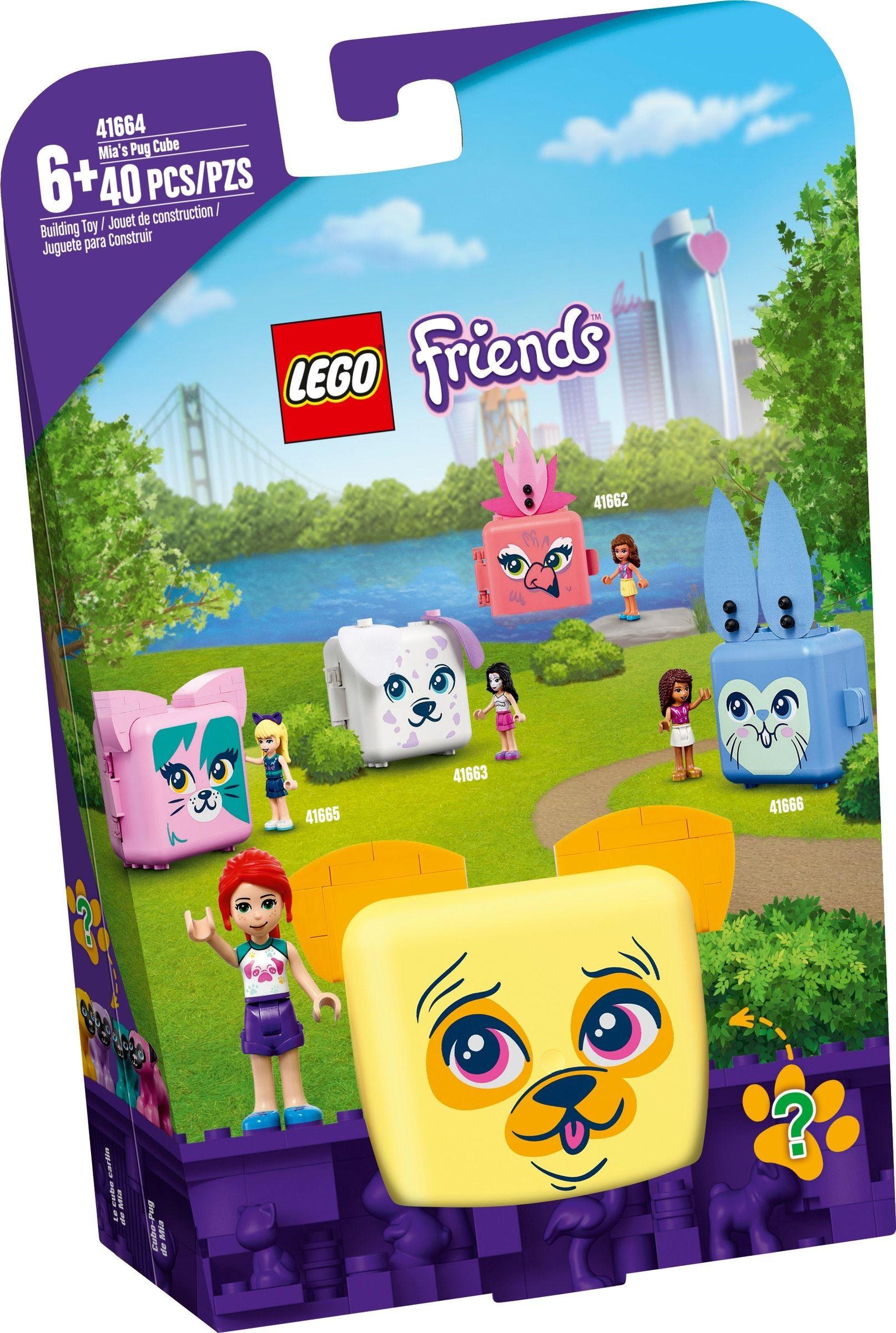 LEGO Friends - Mia's Pug Cube (41664)