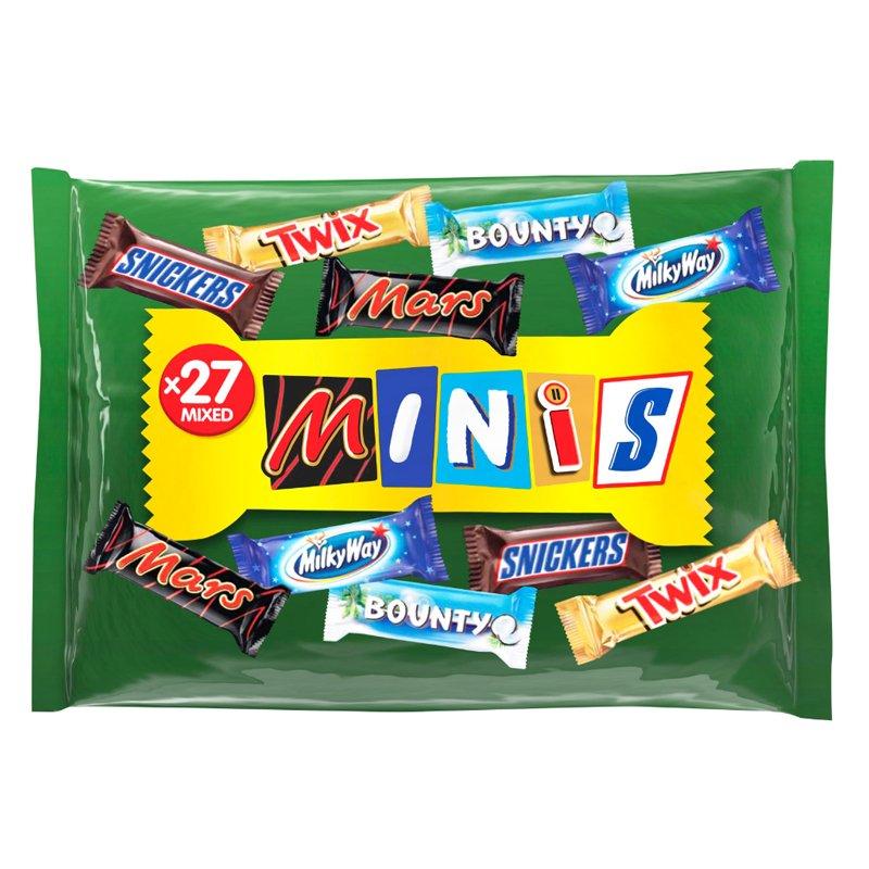 """Godisblandning """"Mixed Minis"""" - 34% rabatt"""