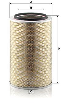 Ilmansuodatin MANN-FILTER C 30 850/7