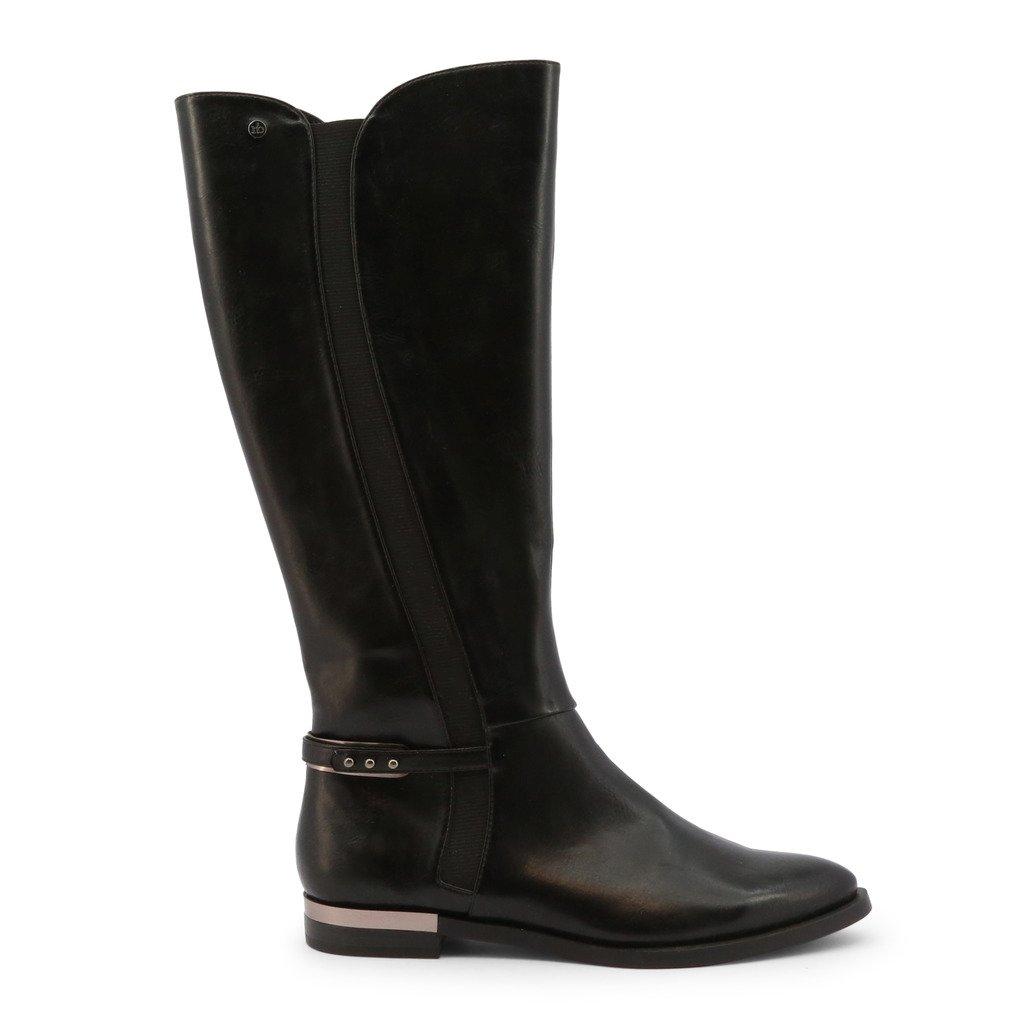 Roccobarocco Women's Boot Black RBSC0U104 - black EU 37