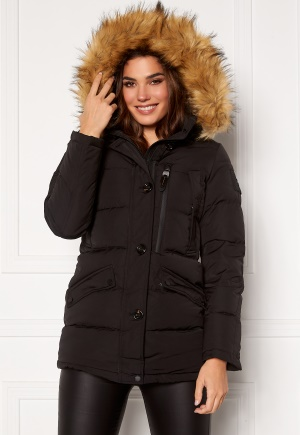 Hollies Wilma Long Jacket Black/Natural 38