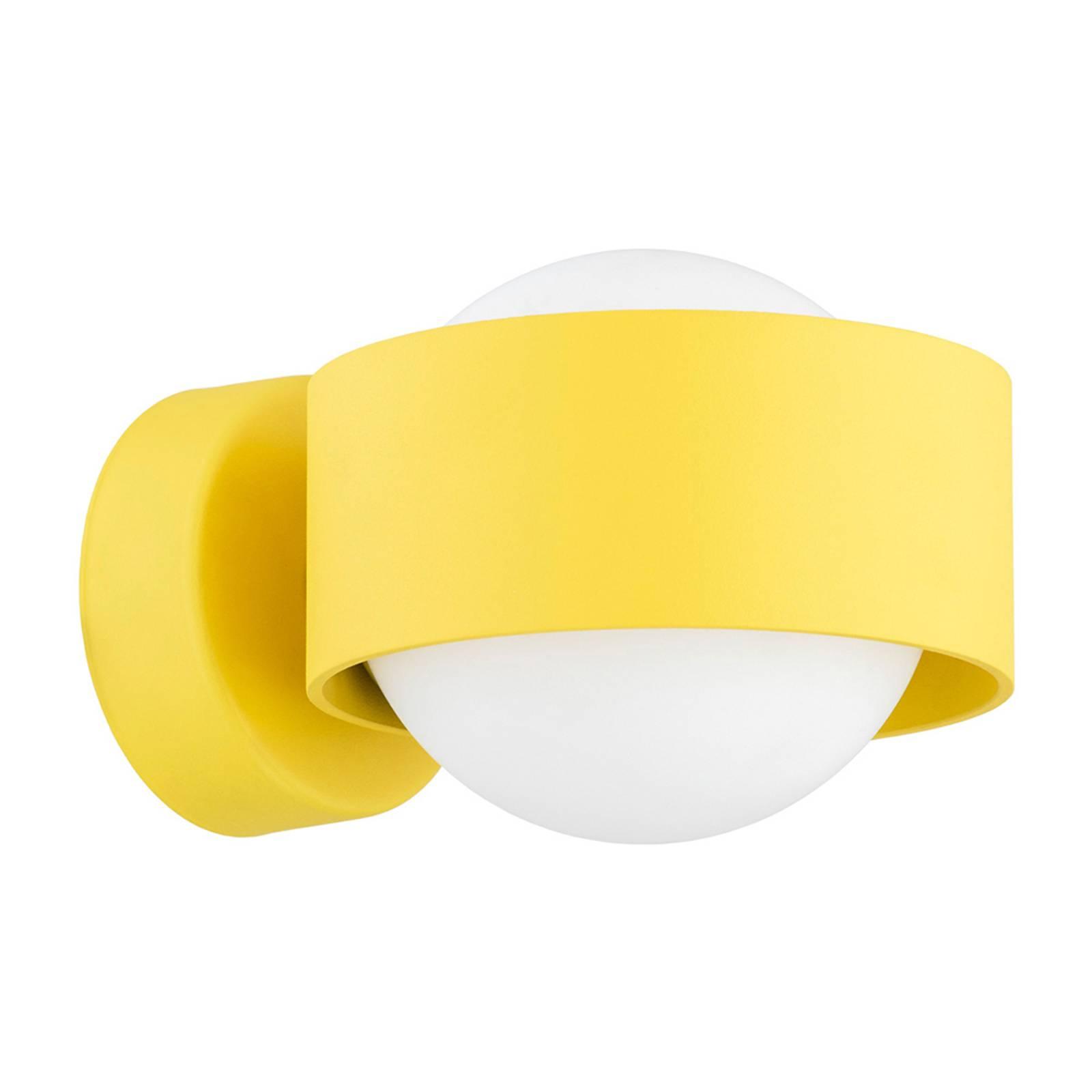 Kylpyhuoneen LED-seinälamppu Macedo, keltainen