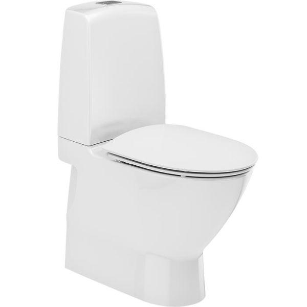 Ifö Spira Art 624009311 Toalettstol med hardt sete soft-close, for liming