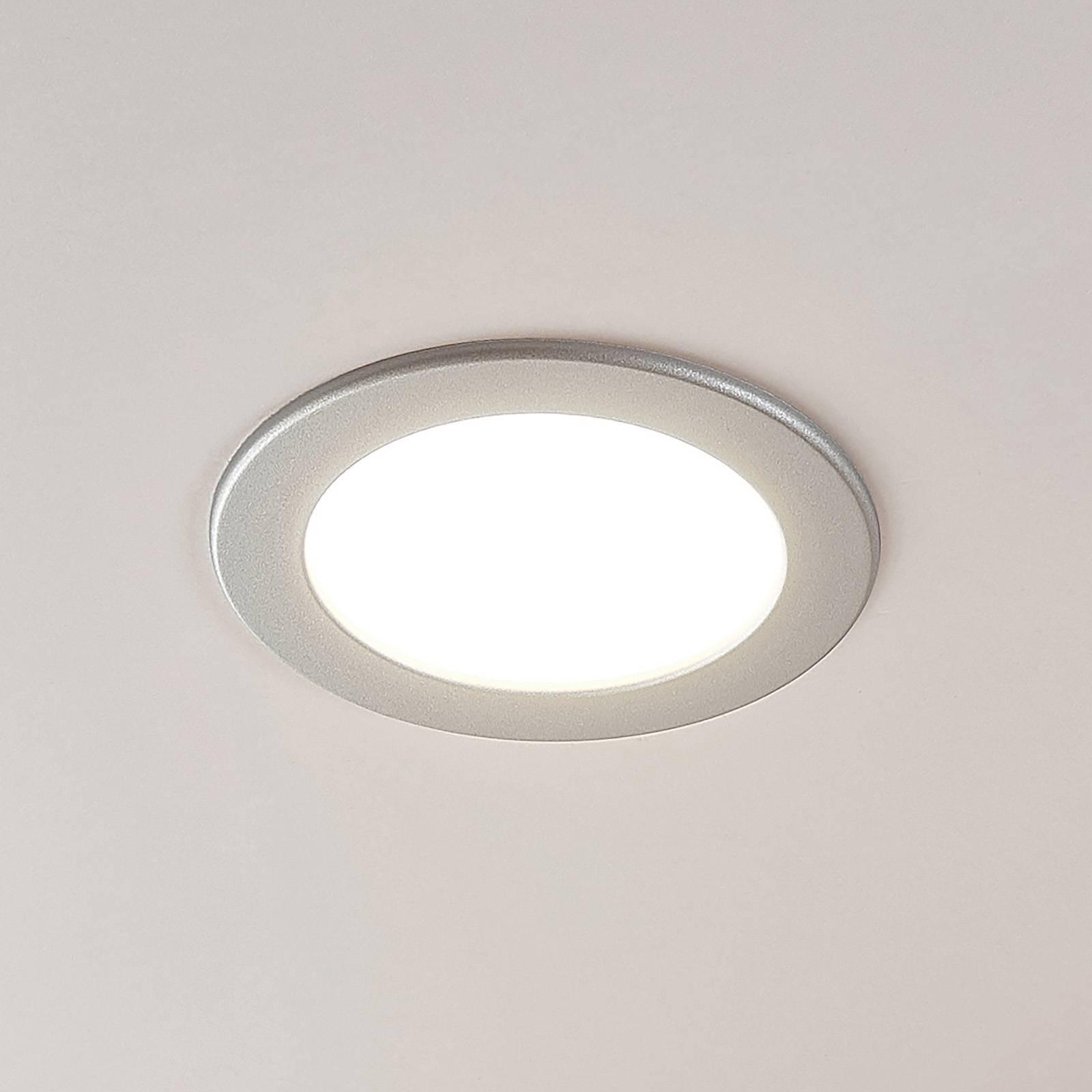 LED-kohdevalo Joki hopea 3 000 K pyöreä 17 cm