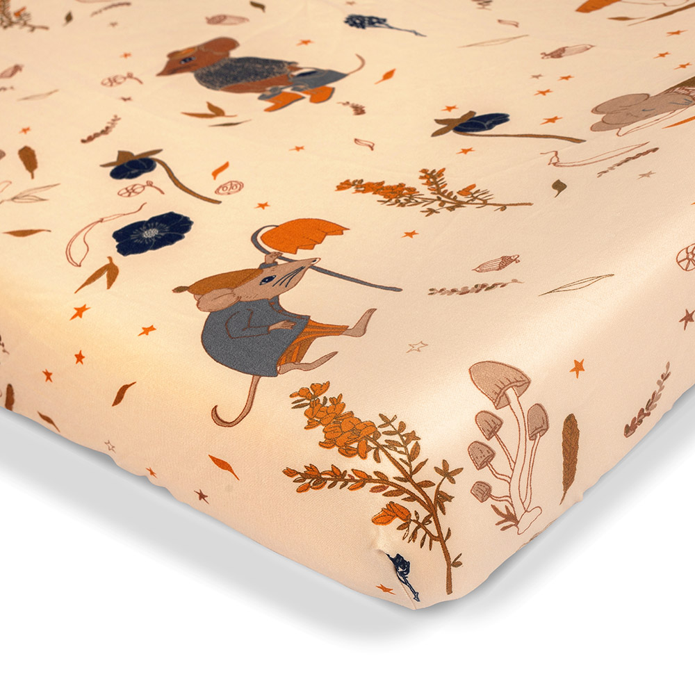 That's Mine - Bed Sheet Baby 60 x 120 cm - Mouse Night (SS212)