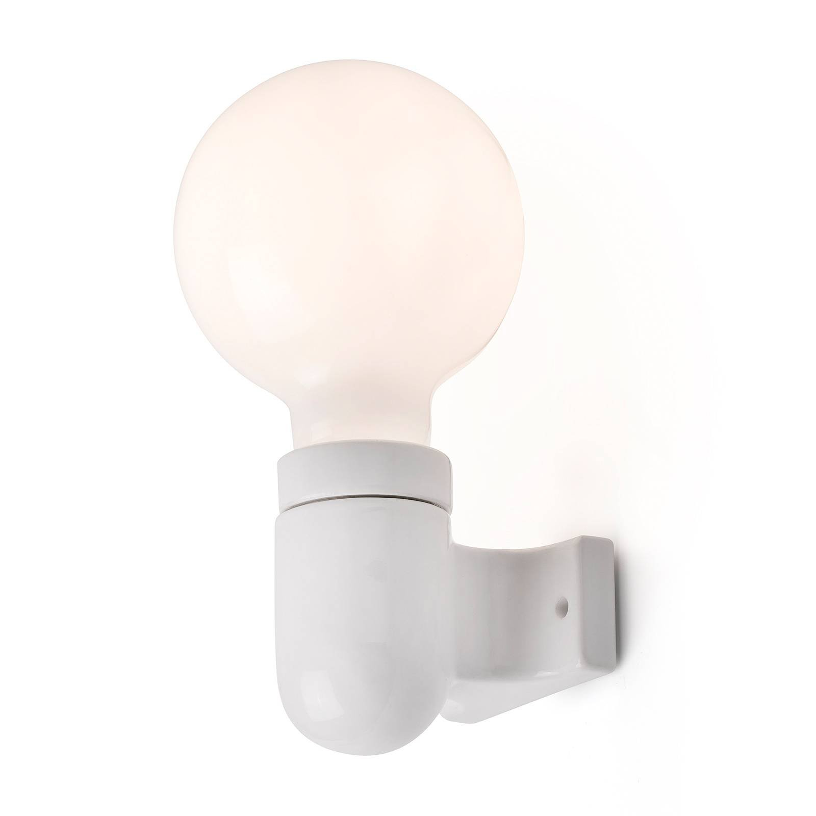 Vegglampe Sera, hvit