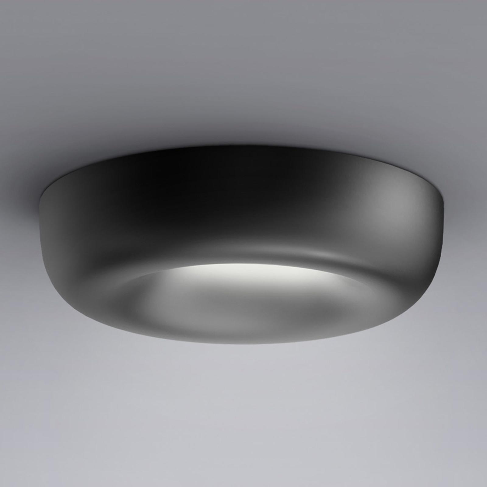 serien.lighting Cavity Recessed L, musta