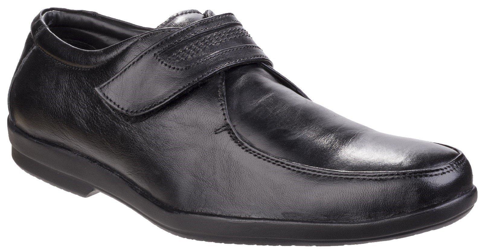 Fleet & Foster Men's Jim Apron Toe Black 24953-41297 - Black 6