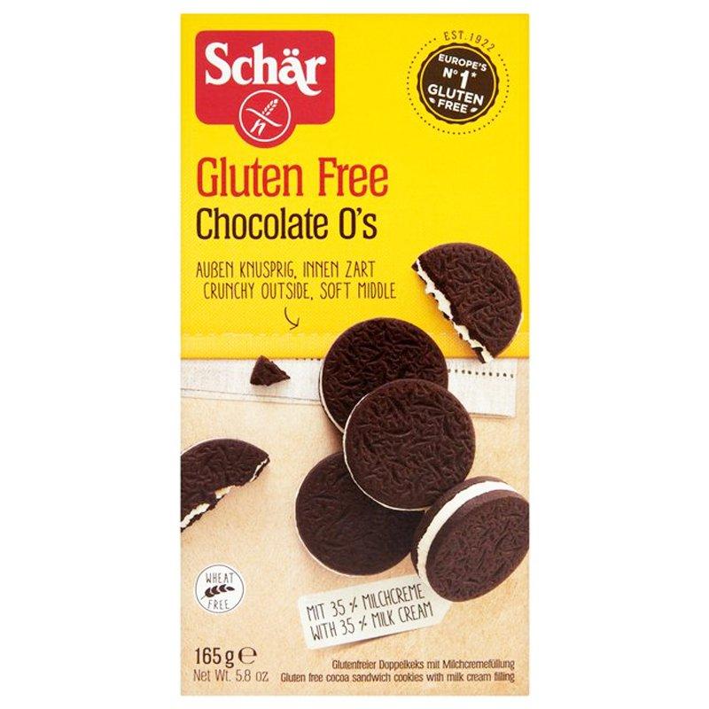 "Keksit, gluteeniton ""Chocolate & Milkcream"" 165 g - 65% alennus"