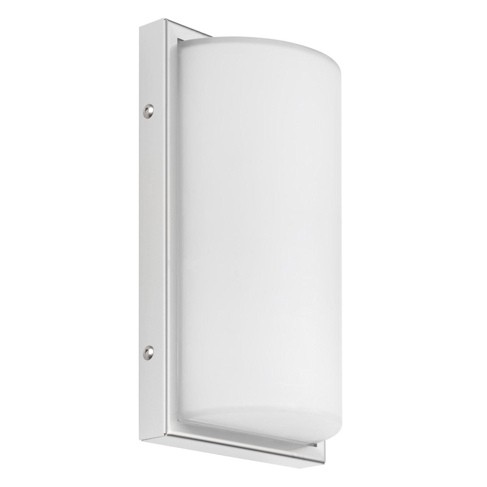 040 utendørs LED-vegglampe, hvit