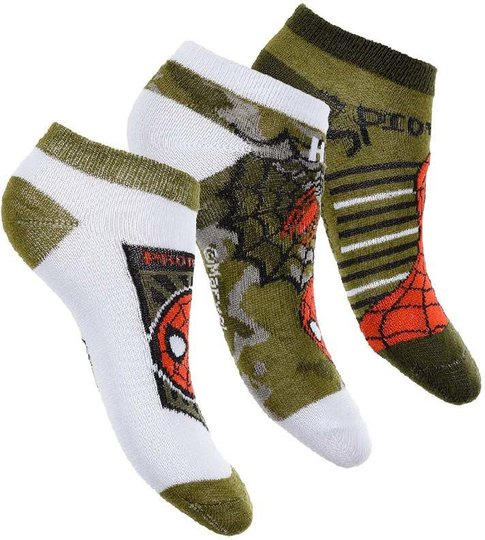 Marvel Spider-Man Strumpa 3-pack, 27-30