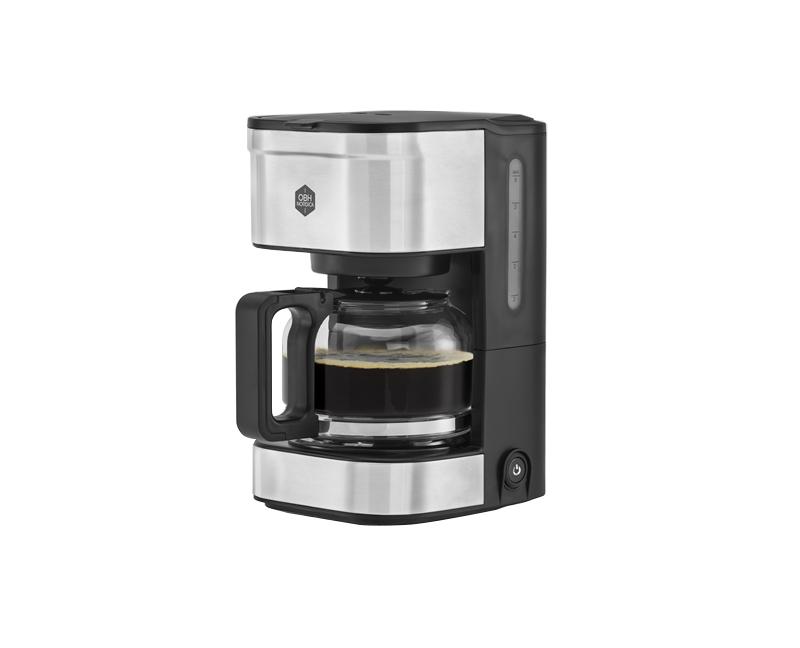 OBH Nordica - Prio Coffee Maker - Silver/Black (2349)