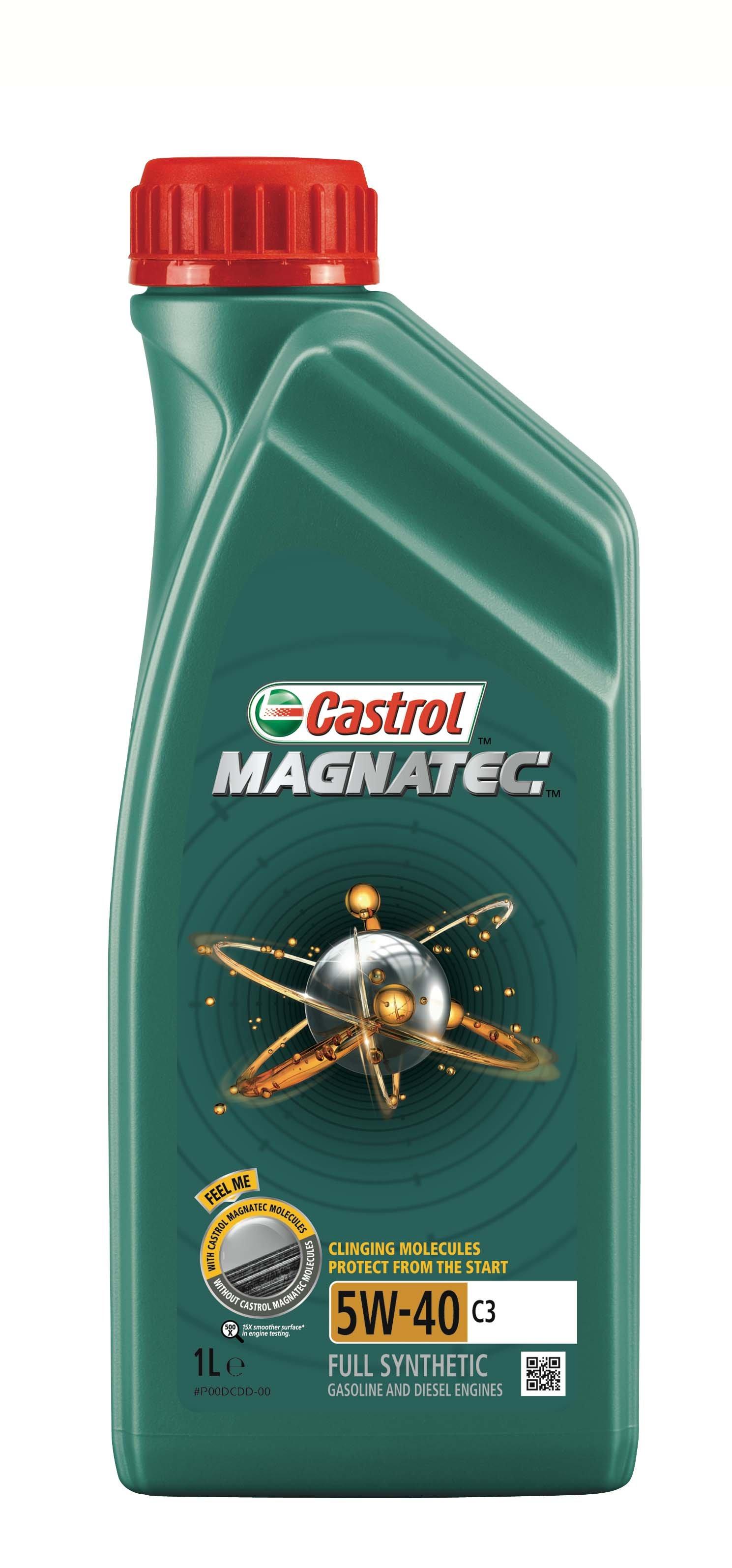 Moottoriöljy CASTROL 5W40 MAGNATEC C3 1L