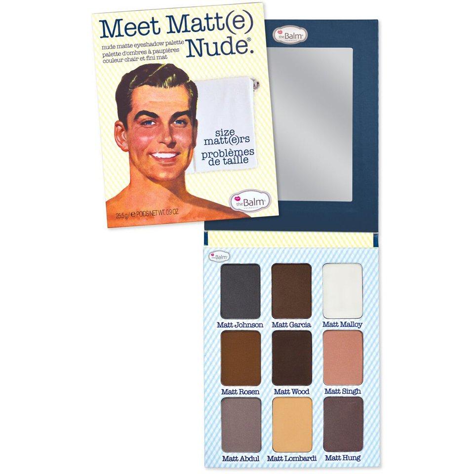 theBalm - Meet Matt(e)Nude Palette