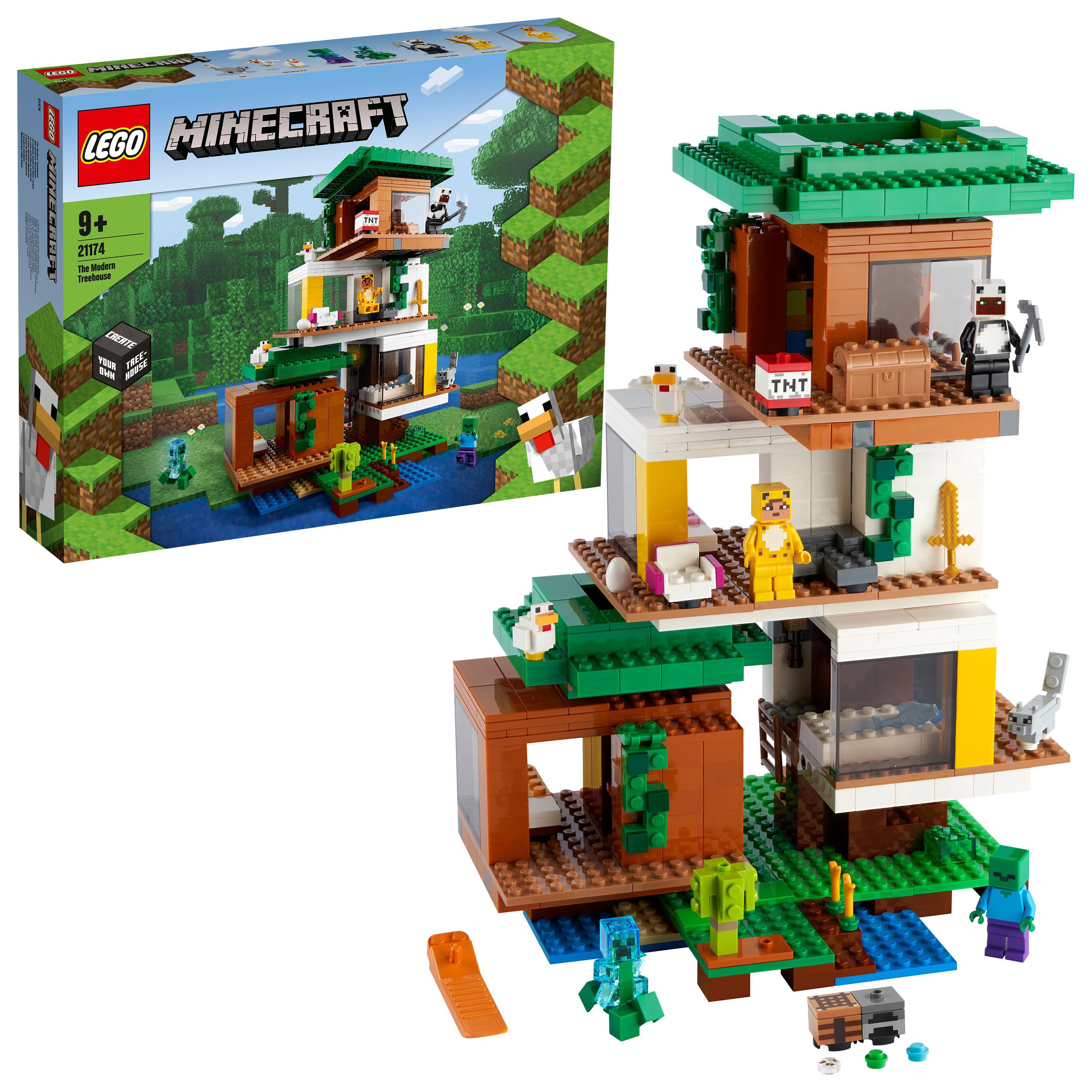 LEGO Minecraft - The Modern Treehouse (21174)
