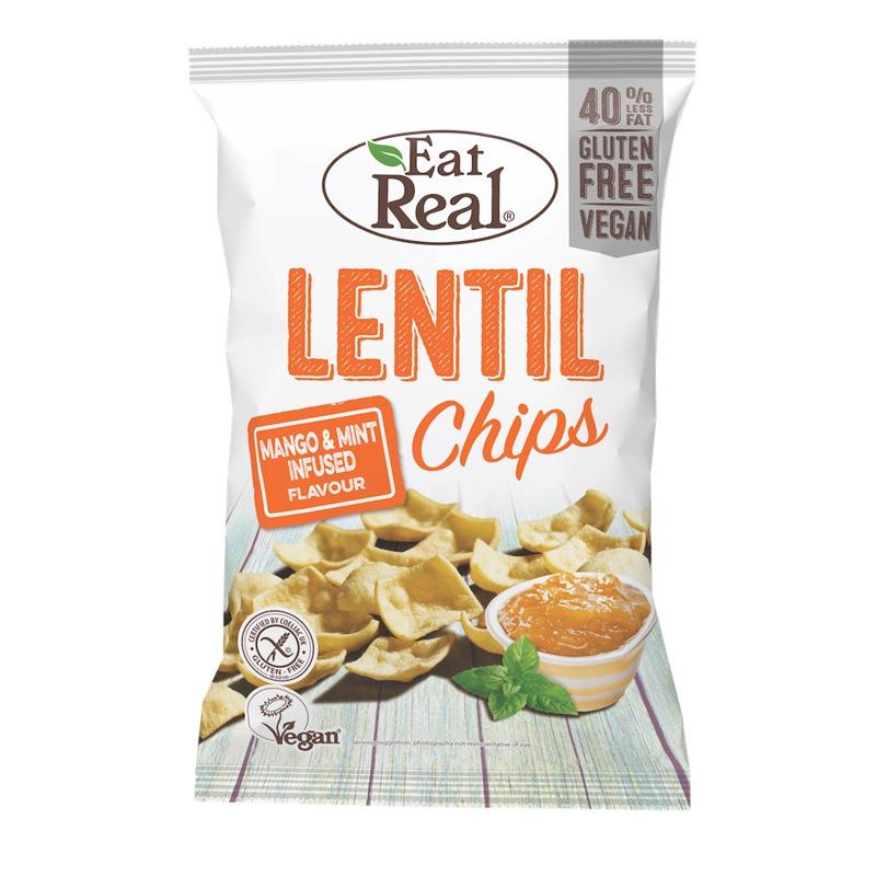 Linschips Mint Mango 113g - 60% rabatt