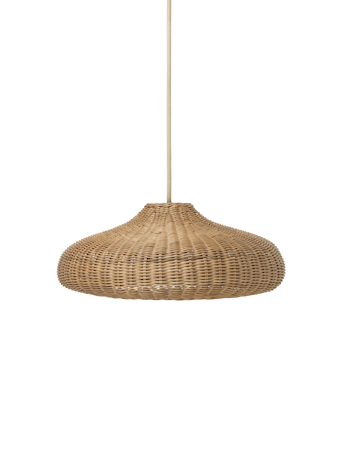 Braided Lampshade - Natural