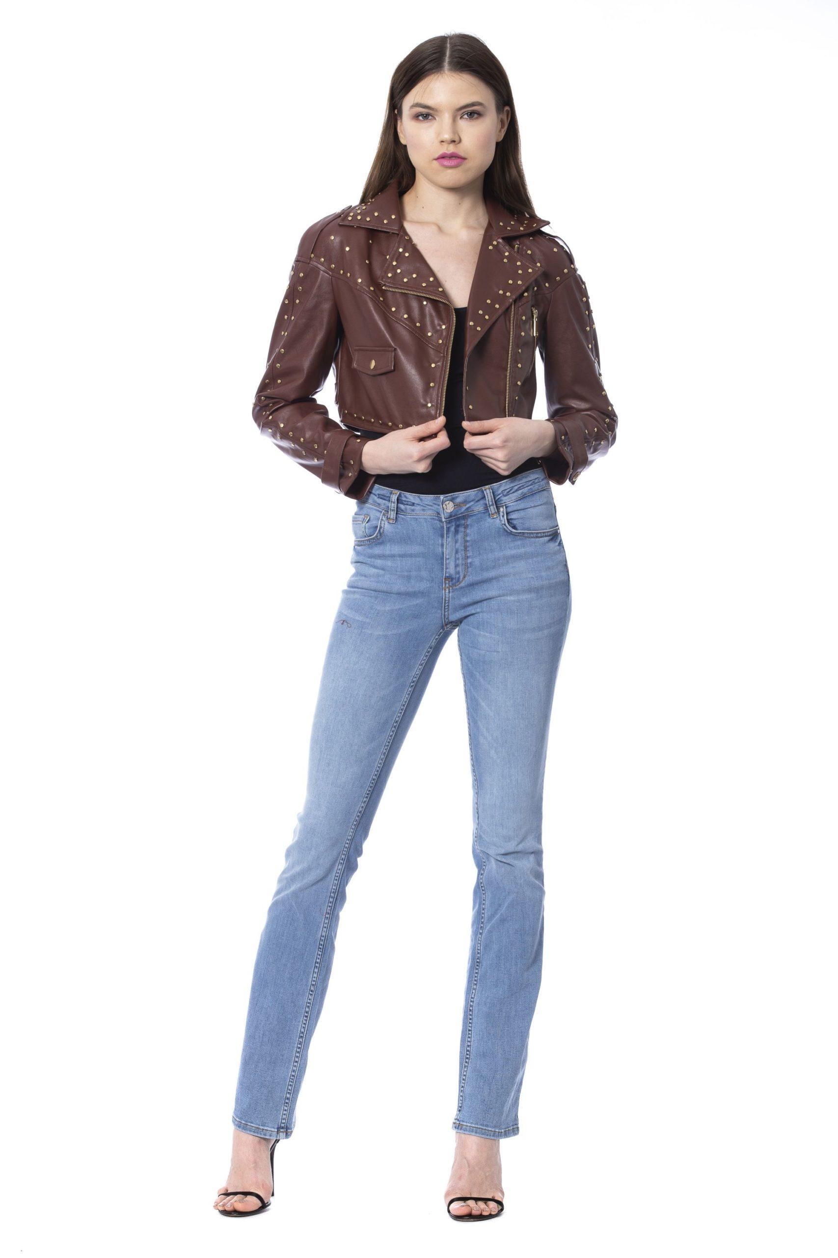 Silvian Heach Women's Jackets Brown SI993888 - XXS