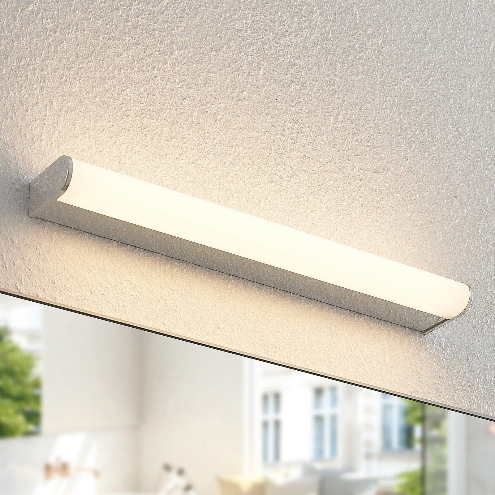 Arcchio Ecaterina LED-vegglampe til bad krom 53 cm